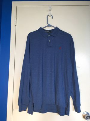 Polo By Ralph Lauren Long-Sleeve Polo Shirt for Sale in Gaithersburg, MD