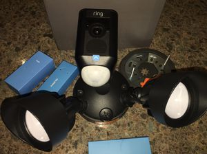 New Never Used Never Installed. New Ring Floodlight Cam for Sale in El Paso, TX