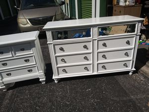 Solid wood dresser solid wood and nice then also solid wood for Sale in Tampa, FL