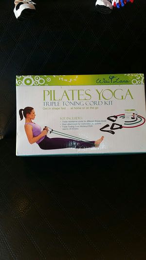 Plates yoga triple toning cord kit for Sale in Chevy Chase, MD