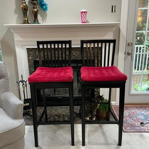 Pier 1 Wooden Bar Stools for Sale in Crofton, MD
