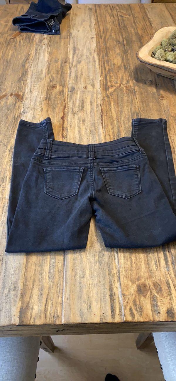 Black Arizona jeans sz 8 kids.