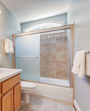 Bathtub glass doors and frame- great condition! for Sale in West Friendship, MD