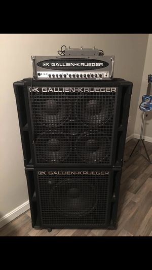 Gallien-Krueger RBH series bass guitar rig for Sale in Washington, PA