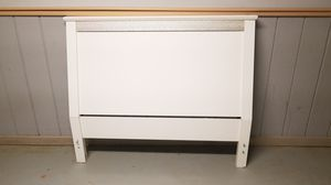 FREE Full/Queen Size White Headboard for Sale in Staunton, VA
