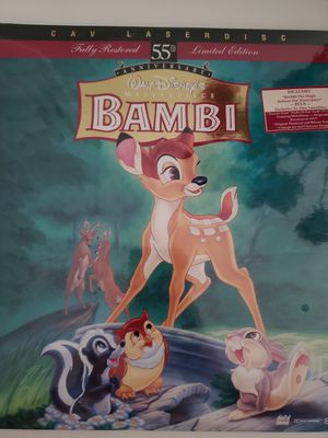 Bambi laser disc for Sale in Los Angeles, CA