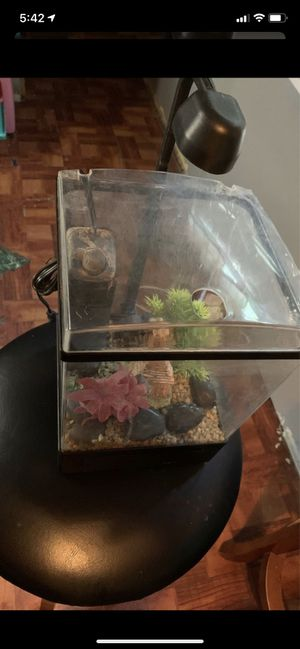 Small fish tank $15 for Sale in Houston, TX