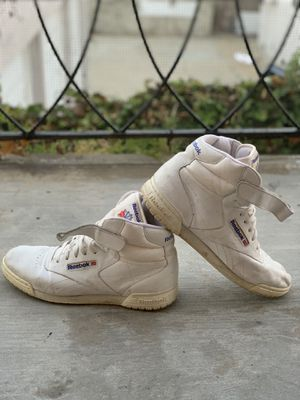All white Reebok Classic High Tops for Sale in San Diego, CA