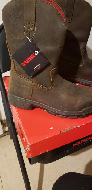 Wolverine comp toe work boots for Sale in Houston, TX