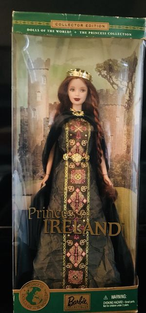 Collectible Princess of Ireland Barbie for Sale in Irving, TX
