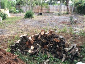 Seasoned Hand split w axe oak fire wood for Sale in Largo, FL