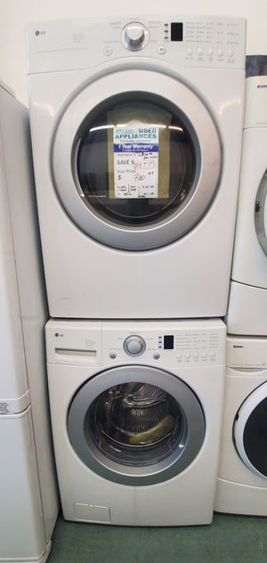 White LG Washer and Dryer for Sale in Littleton, CO