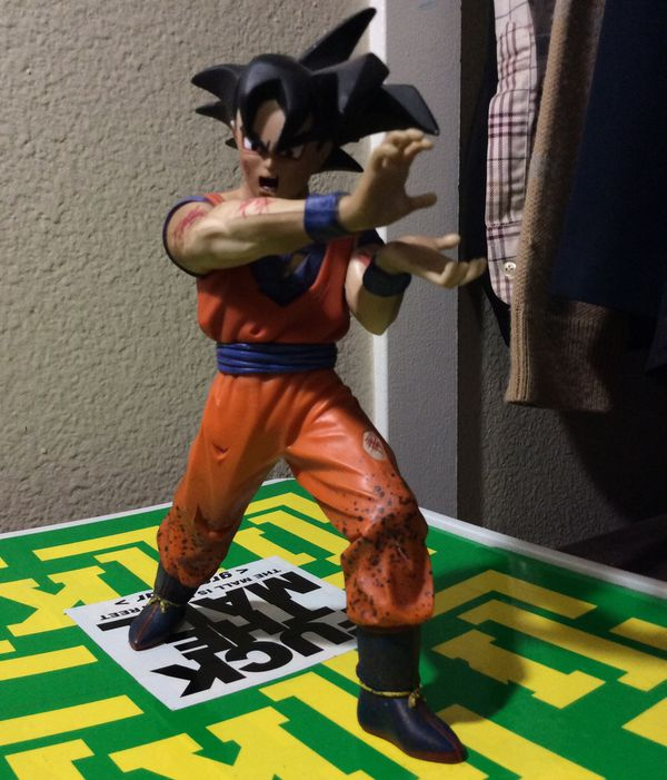 GOKU action figure from 2001