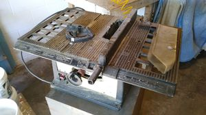 Rockwell Portable 8in table saw for Sale in Orlando, FL