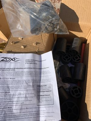 """Jeep Wrangler TJ 2"""" and 3"""" body lifts! NEW in box! for Sale in Mesa, AZ"""