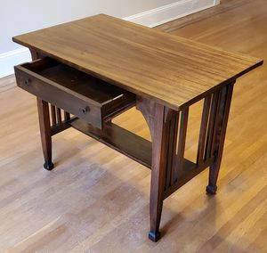 Antique Mahogany Wood Desk for Sale in Baltimore, MD