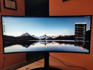 "LG 34"" Curved UltraWide QHD IPS AMD FreeSync Gaming Monitor for Sale in Gilbert, AZ"