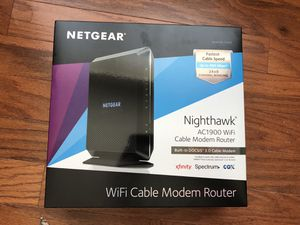 NETGEAR Nighthawk AC 1900 Wifi Cable Modem Router for Sale in Woodbridge, VA