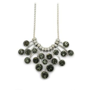 Fashion pendant green circle crystal necklace for Sale in Atherton, CA