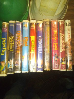 Original vhs movies for Sale in Winslow, AR