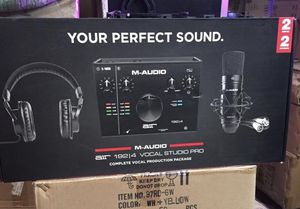 M-audio air 192/4 vocal studio pro for Sale in Forest Park, GA
