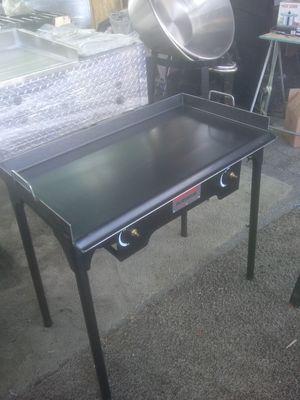 Flattop with 2 hugh presure burners 175$$ for Sale in Las Vegas, NV