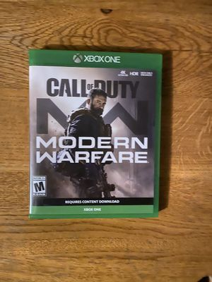 Modern warfare for Xbox one. No scratches, works perfect. for Sale in Stockton, CA