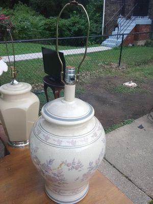Decorative Ceramic Lamp for Sale in Washington, DC