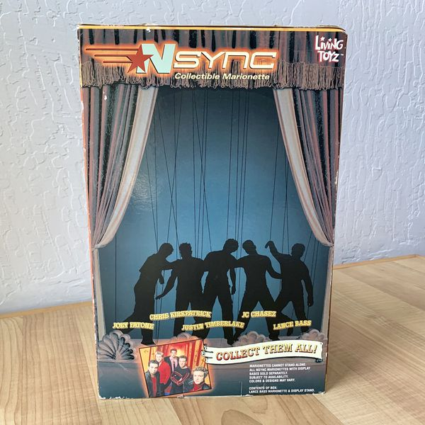 "Living Toyz Nsync Lance Bass Collectable Marionette 10"" Figure Doll Toy"