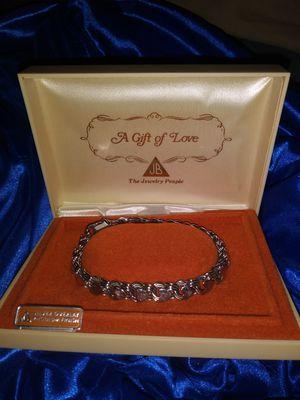 Vintage JB heart charm bracelet for Sale in Little Rock, AR