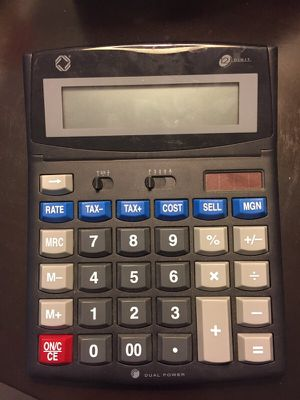 Big calculator for Sale in Chicago, IL