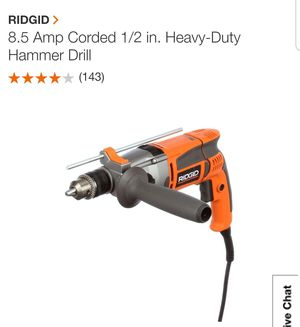 Rigid Hammer Drill for Sale in Dallas, TX
