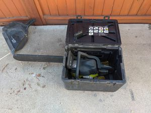 Ryobi 18-in chainsaw for Sale in San Diego, CA