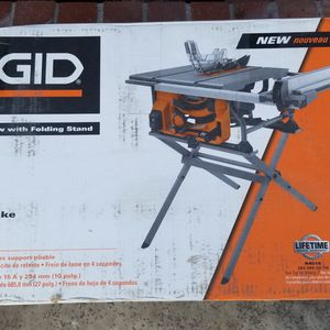 Rigid 10 Table Saw for Sale in Garden Grove, CA