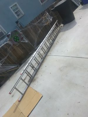 24 ft extension ladder 45$ firm for Sale in Pomona, CA
