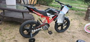 Speedbike with training wheels for Sale in Kannapolis, NC