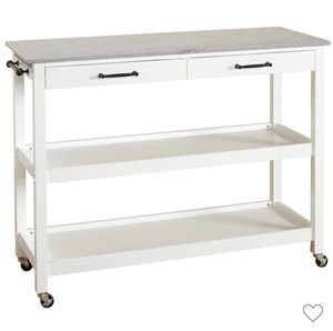 Arlington Kitchen Cart - White - Angelo for Sale in San Leandro, CA