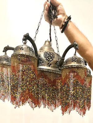 Middle eastern beaded lamps-never used! for Sale in Sea Ranch Lakes, FL