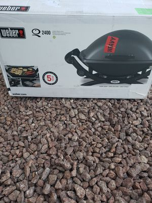 NEW Electric barbecue BBQ grill Weber for Sale in North Las Vegas, NV