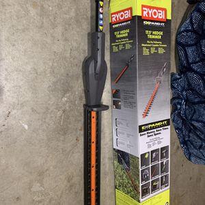 RYOBI 17.5 Hedge Trimmer Attachment for Sale in Dallas, TX