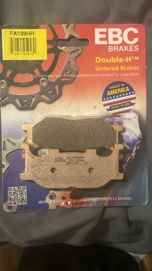 Yamaha v star 1100 front brake pads for Sale in Longview, TX