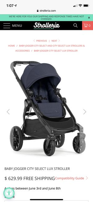 City Select Lux by Baby Jogger Double Stroller for Sale in Henderson, NV