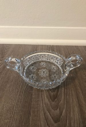 Beautiful Antique cut glass dish for Sale in Dayton, OH