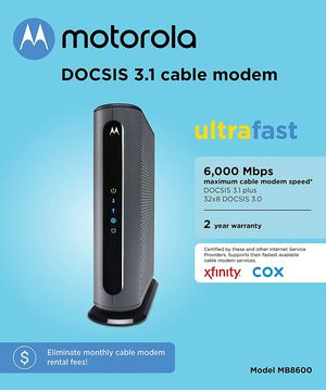 Motorola MB8600 Cable Modem for Sale in Lake Worth, FL