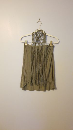 women's Venus Halter top with fringe M for Sale in Tampa, FL