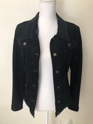Black Suede Jacket for Sale in Palm Beach Gardens, FL
