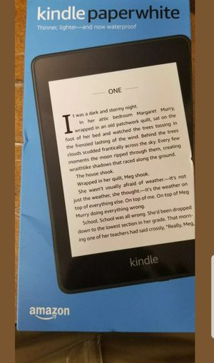 "Amazon Kindle paperwhithe 8GB Waterproof ( Twilight Blue ) 6"" for Sale in Miami, FL"