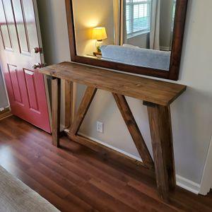 Handmade Farmhouse Console/Entryway Table for Sale in Murfreesboro, TN