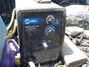 Millermatic 140 auto set welder for Sale in Odessa, TX