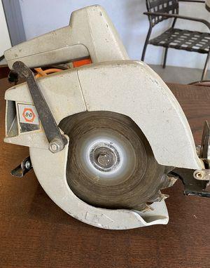 "Black & Decker No. 7301 7 1/4"" Circular Saw & Manual for Sale in Phoenix, AZ"